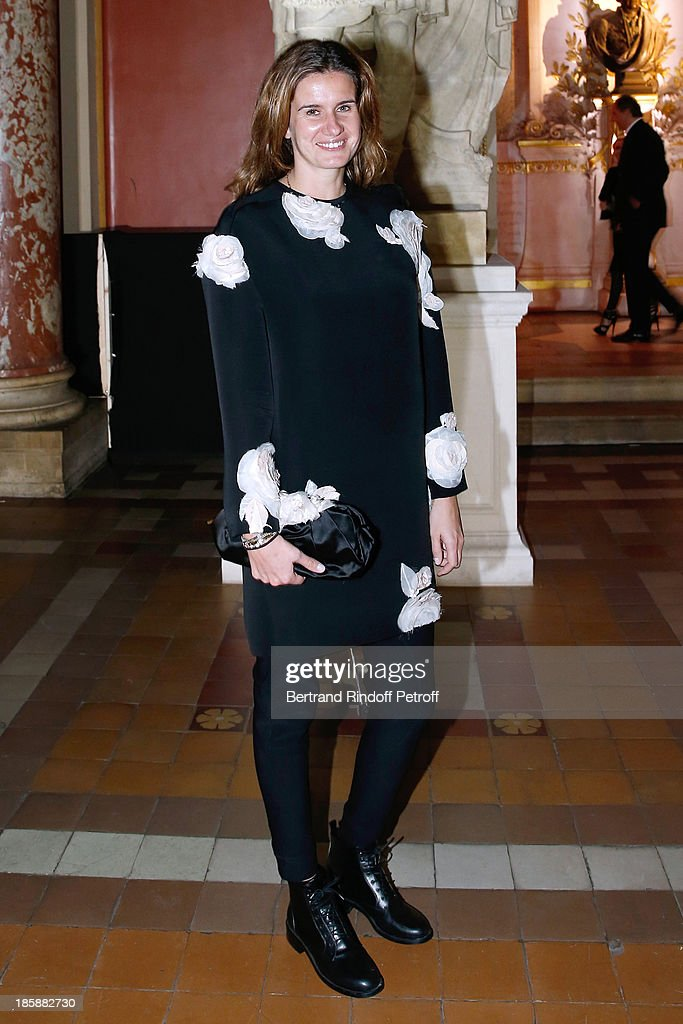 Emilie-Sophie Pastor - Designer Alber Elbaz pays tribute to Cesar Baldaccini by an Evening Pic-Nic at the Ecole Nationale Superieure des Beaux Arts de Paris on October 25, 2013 in Paris, France.
