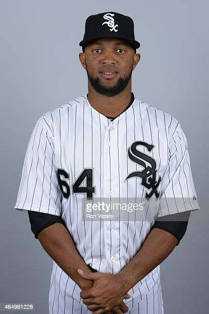 Emilio Bonifacio of the Chicago White Sox poses during Photo Day on Saturday February 28 2015 at Camelback Ranch in Glendale Arizona