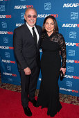 Emilio Estefan and Gloria Estefan attend the ASCAP Centennial Awards at The Waldorf Astoria on November 17 2014 in New York City