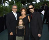 Emilio Estefan and Gloria Estefan their two children Nayib and Emily Marie