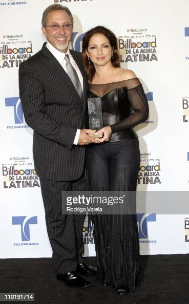 Emilio Estefan and Gloria Estefan winner for Latin Pop Airplay Track of the Year Female for 'Hoy'