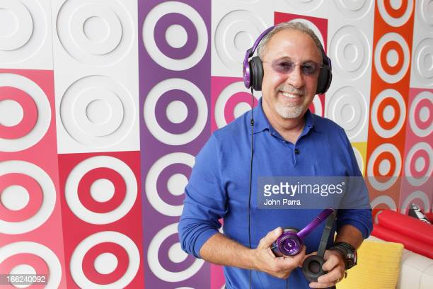 Emilio Estefan and Target celebrate the launch of Sound Machine by Monster headphones at Hispanicize 2013 on April 10 2013 in Miami Beach Florida