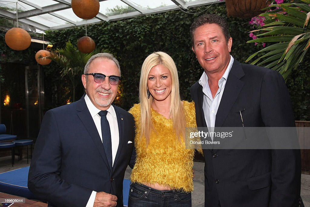 <a gi-track='captionPersonalityLinkClicked' href=/galleries/search?phrase=Emilio+Estefan&family=editorial&specificpeople=210517 ng-click='$event.stopPropagation()'>Emilio Estefan</a>, Jill Martin and <a gi-track='captionPersonalityLinkClicked' href=/galleries/search?phrase=Dan+Marino&family=editorial&specificpeople=203298 ng-click='$event.stopPropagation()'>Dan Marino</a> attend The Launch of AARP's 'Life Reimagined' hosted by <a gi-track='captionPersonalityLinkClicked' href=/galleries/search?phrase=Emilio+Estefan&family=editorial&specificpeople=210517 ng-click='$event.stopPropagation()'>Emilio Estefan</a> and <a gi-track='captionPersonalityLinkClicked' href=/galleries/search?phrase=Dan+Marino&family=editorial&specificpeople=203298 ng-click='$event.stopPropagation()'>Dan Marino</a> at La Bottega Trattoria at The Maritime Hotel on May 28, 2013 in New York City.