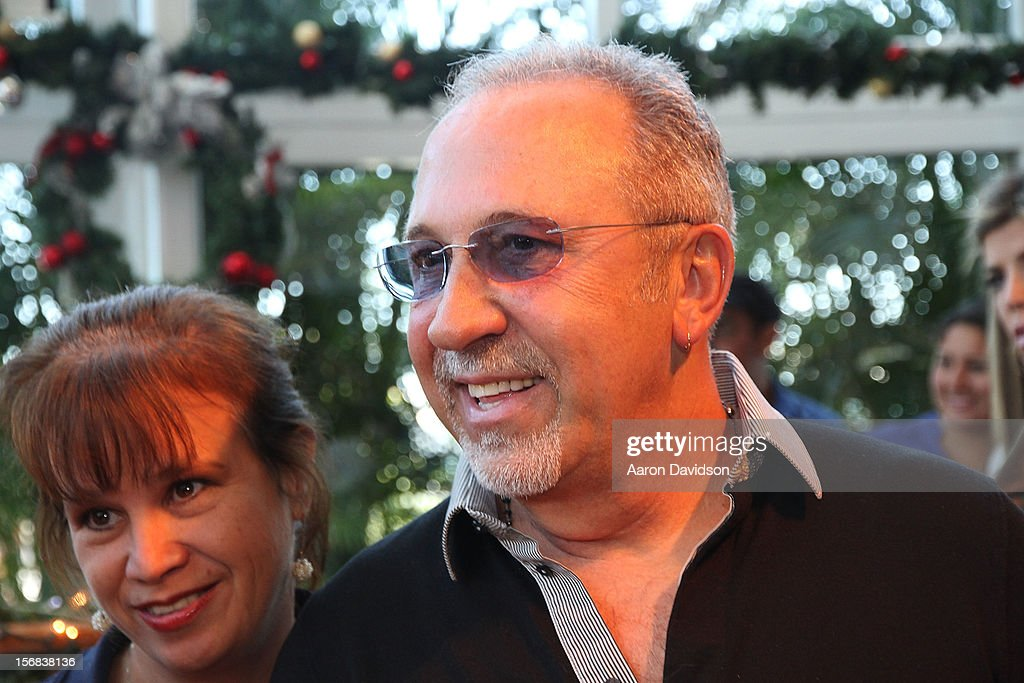 <a gi-track='captionPersonalityLinkClicked' href=/galleries/search?phrase=Emilio+Estefan&family=editorial&specificpeople=210517 ng-click='$event.stopPropagation()'>Emilio Estefan</a> participates in 5th Annual Thanksgiving Feed A Friend at Bongos on November 22, 2012 in Miami, Florida.