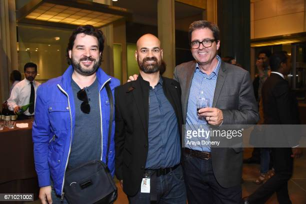 Emilio Frank Ralph Rivera and Josh Welsh attend the Film Independent at LACMA Special Screening and QA of 'The Life Of Henrietta Lacks' at Bing...