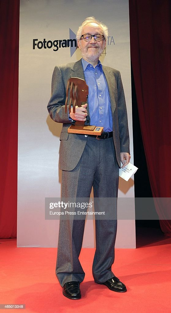Emilio Martinez Lazaro attends the 'Fotogramas Awards' 2015 on March 2 2015 in Madrid Spain