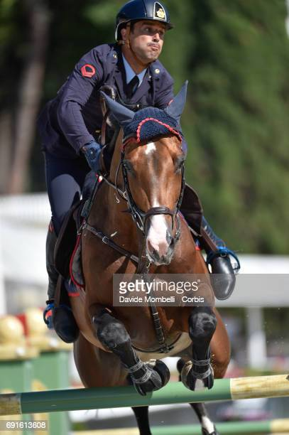 Emilio of Italy riding Call Me during the Piazza di Siena Bank Intesa Sanpaolo in the Villa Borghese on May 27 2017 in Rome Italy