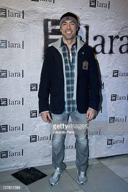 Emilio Pineda attends Mas Alla del Puente premiere photocall at Lara theatre on March 24 2011 in Madrid Spain