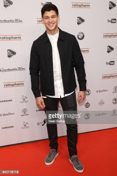 Emilio Sakraya attends the 99FireFilmsAward at Admiralspalast on February 16 2017 in Berlin Germany