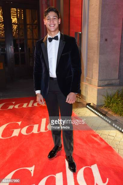 Emilio Sakraya Moutaoukkil attends the Opening Night By GALA UFA on February 9 2017 in Berlin Germany