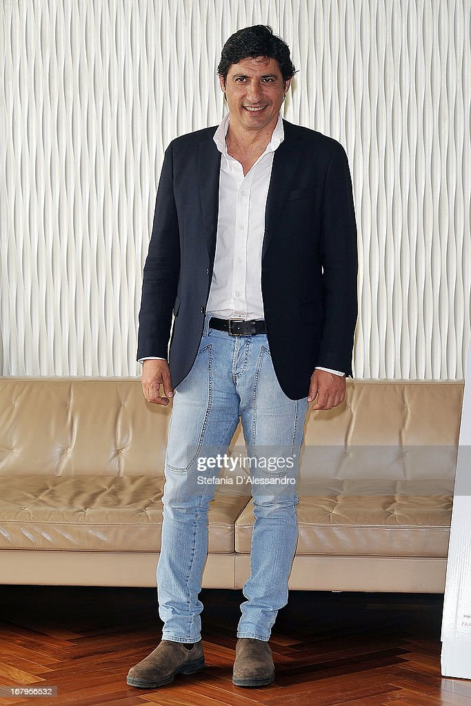 Emilio Solfrizzi attends a photocall for 'Mi Rifaccio Vivo' on May 3, 2013 in Milan, Italy.