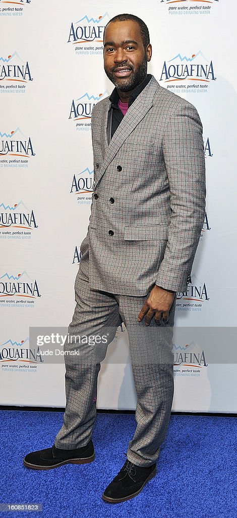Emilio Sosa of 'Project Runway' attends The Aquafina 'Pure Challenge' at The Empire Hotel Rooftop on February 6, 2013 in New York City.