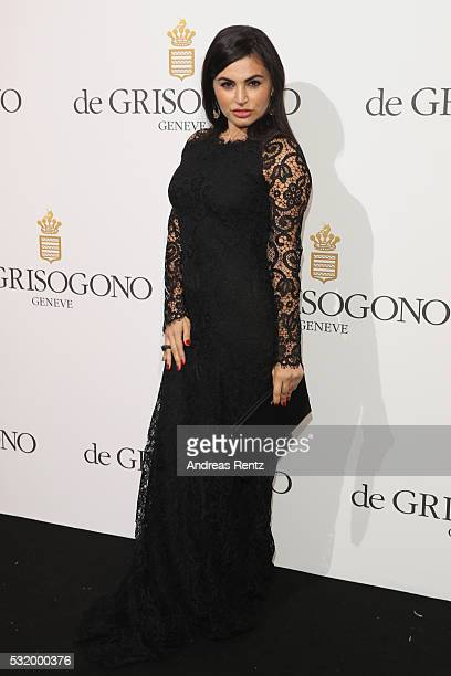 Emiliya Kazandjian attends the De Grisogono Party during the annual 69th Cannes Film Festival at Hotel du CapEdenRoc on May 17 2016 in Cap d'Antibes...