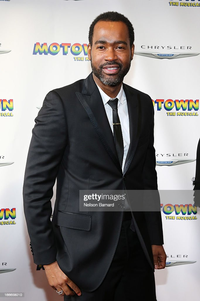 Emilo Esosa attends the Broadway opening night for 'Motown: The Musical' at Lunt-Fontanne Theatre on April 14, 2013 in New York City.
