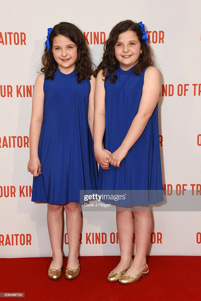 Emily and Rosanna Beacock arrive for the UK Gala Screening of 'Our Kind Of Traitor' at The Curzon Mayfair on May 5, 2016 in London, England.