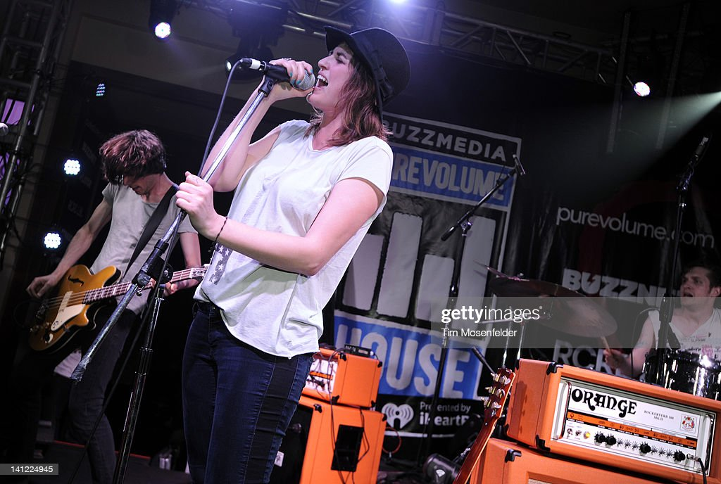 Emily Armstrong of Dead Sara performs at the PureVolume House Presented By iHeartRadio At SXSW 2012 on March 12, 2012 in Austin, Texas.
