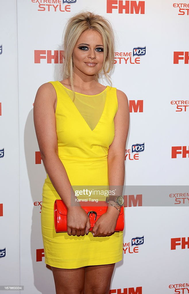 Emily Atack arrives for the FHM 100 Sexiest Women in the World 2013 Launch Party held at the Sanderson Hotel on May 1, 2013 in London, England.