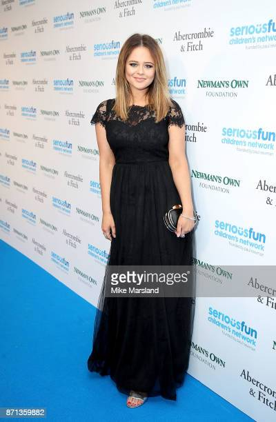 Emily Atack attends the SeriousFun London Gala 2017 at The Roundhouse on November 7 2017 in London England