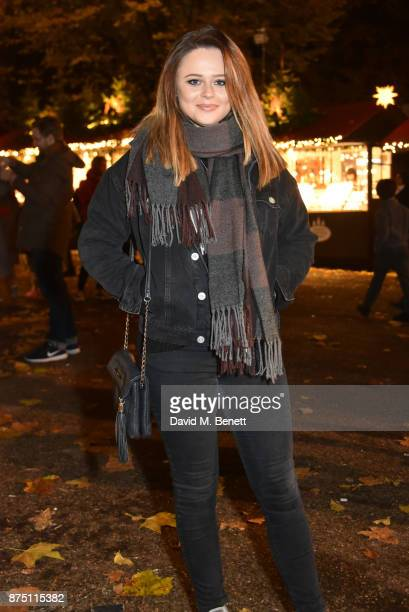 Emily Atack attends the VIP launch of Hyde Park Winter Wonderland 2017 on November 16 2017 in London England