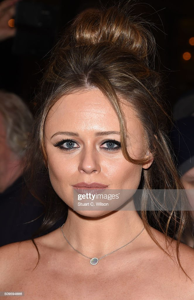 <a gi-track='captionPersonalityLinkClicked' href=/galleries/search?phrase=Emily+Atack&family=editorial&specificpeople=6525026 ng-click='$event.stopPropagation()'>Emily Atack</a> attends the World Premiere of 'End Of Longing', written by and starring Matthew Perry at Playhouse Theatre on February 11, 2016 in London, England.