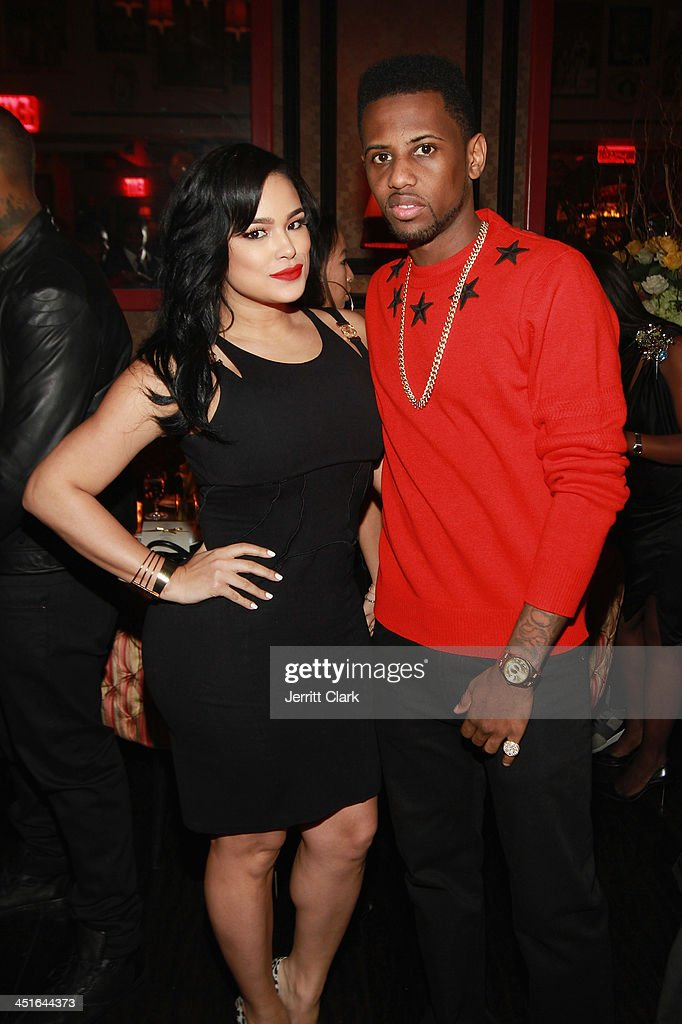 Emily B. and <a gi-track='captionPersonalityLinkClicked' href=/galleries/search?phrase=Fabolous&family=editorial&specificpeople=215255 ng-click='$event.stopPropagation()'>Fabolous</a> attend Trey Songz and <a gi-track='captionPersonalityLinkClicked' href=/galleries/search?phrase=Fabolous&family=editorial&specificpeople=215255 ng-click='$event.stopPropagation()'>Fabolous</a>' birthday dinner at Cherry on November 22, 2013 in New York City.