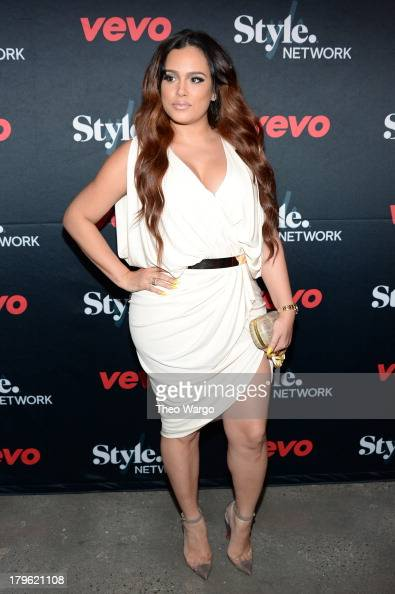 Emily B attends the VEVO and Styled To Rock Celebration Hosted by Actress Model and 'Styled to Rock' Mentor Erin Wasson with Performances by Bridget...