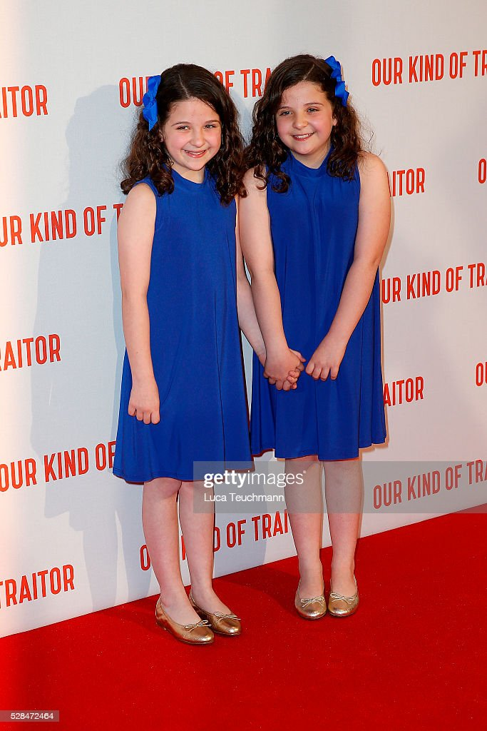 Emily Beacock and Rosanna Beacockarrives for the UK Gala of 'Our Kind Of Traitor' at The Curzon Mayfair on May 5, 2016 in London, England.