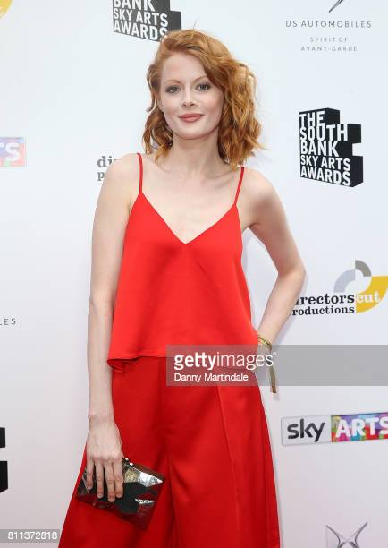 Emily Beecham attending The Southbank Sky Arts Awards 2017 at The Savoy Hotel on July 9 2017 in London England