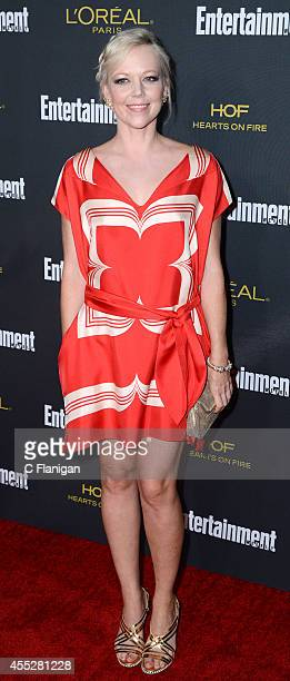Emily Bergl attends the 2014 Entertainment Weekly PreEmmy Party at Fig Olive Melrose Place on August 23 2014 in West Hollywood California