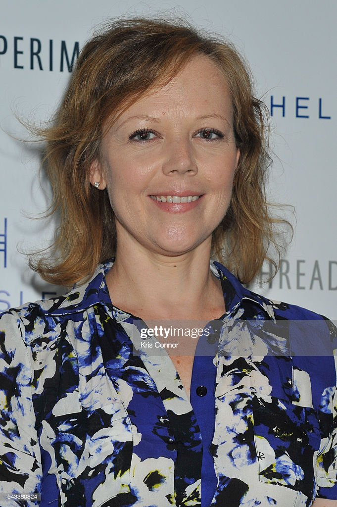 <a gi-track='captionPersonalityLinkClicked' href=/galleries/search?phrase=Emily+Bergl&family=editorial&specificpeople=742762 ng-click='$event.stopPropagation()'>Emily Bergl</a> poses during the 'Let's Get Under The Covers: An Evening Of Cocktails And Change' event at Hotel Americano on June 27, 2016 in New York City.