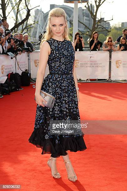 Emily Berrington attends the House Of Fraser British Academy Television Awards 2016 at the Royal Festival Hall on May 8 2016 in London England