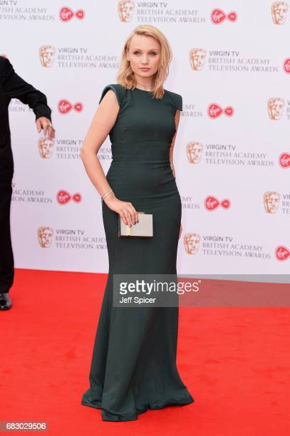 Emily Berrington attends the Virgin TV BAFTA Television Awards at The Royal Festival Hall on May 14 2017 in London England