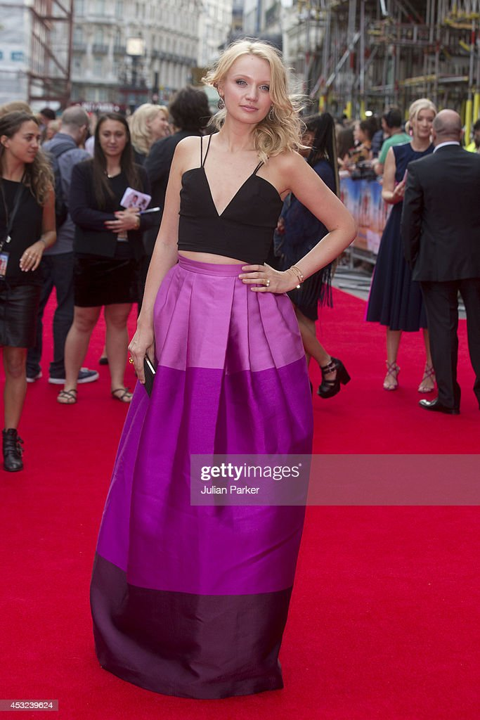 <a gi-track='captionPersonalityLinkClicked' href=/galleries/search?phrase=Emily+Berrington&family=editorial&specificpeople=12555620 ng-click='$event.stopPropagation()'>Emily Berrington</a> attends the World Premiere of 'The Inbetweeners 2' at Vue West End on August 5, 2014 in London, England.