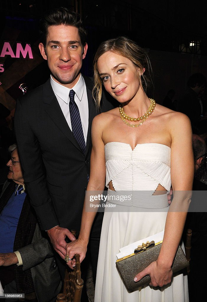 Emily Blunt and John Krasinski attend the 22nd Annual Gotham Independent Film Awards at Cipriani Wall Street on November 26, 2012 in New York City.