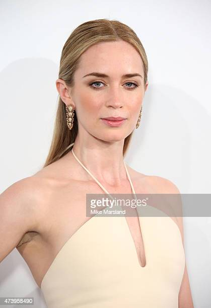 Emily Blunt attends the Calvin Klein party during the 68th annual Cannes Film Festival on May 18 2015 in Cannes France