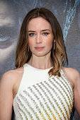 Emily Blunt attends the gala screening of 'Into The Woods' at The Curzon Mayfair on January 7 2015 in London England