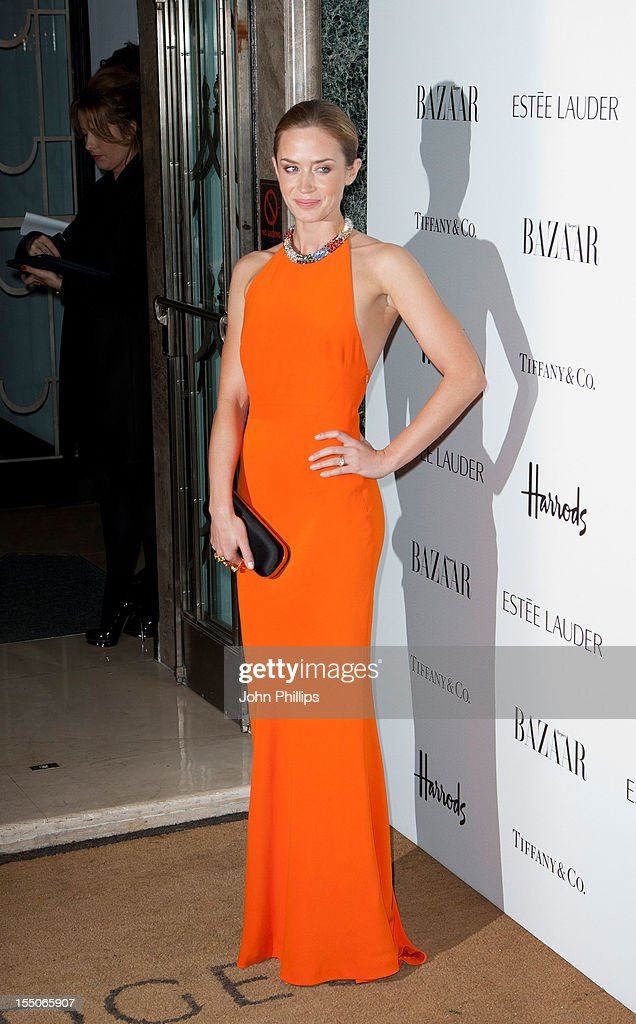 <a gi-track='captionPersonalityLinkClicked' href=/galleries/search?phrase=Emily+Blunt&family=editorial&specificpeople=213480 ng-click='$event.stopPropagation()'>Emily Blunt</a> attends the Harper's Bazaar Woman of the Year Awards at Claridge's Hotel on October 31, 2012 in London, England.