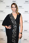 Emily Blunt attends the IWC Gala Dinner during the Salon International de la Haute Horlogerie 2015 at the Palexpo on January 20 2015 in Geneva...
