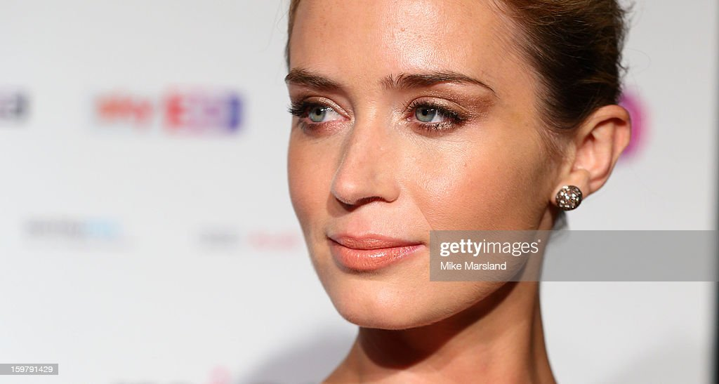 <a gi-track='captionPersonalityLinkClicked' href=/galleries/search?phrase=Emily+Blunt&family=editorial&specificpeople=213480 ng-click='$event.stopPropagation()'>Emily Blunt</a> attends the London Film Critics Circle Film Awards at The Mayfair Hotel on January 20, 2013 in London, England.