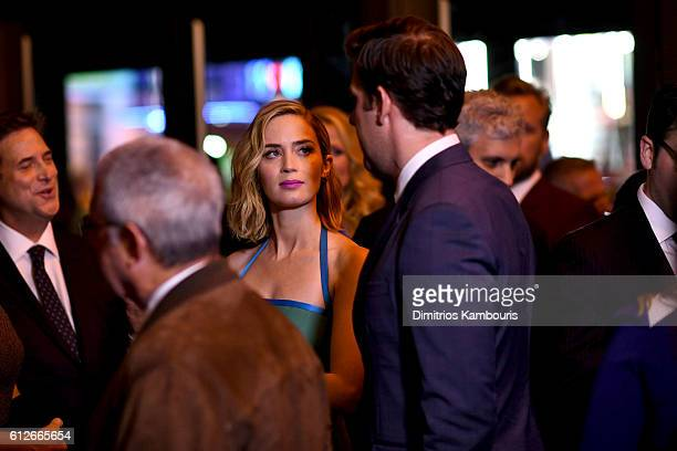 Emily Blunt attends the 'The Girl On The Train' New York Premiere at Regal EWalk Stadium 13 on October 4 2016 in New York City