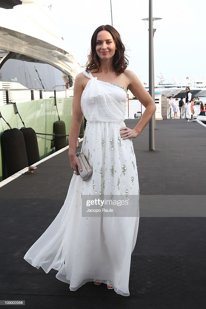 Emily Blunt is seen during the 63rd Annual International Cannes Film Festival on May 19, 2010 in Cannes, France.