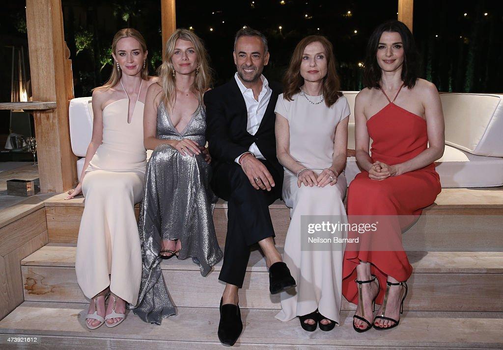 Emily Blunt Melanie Laurent Women's Creative Director of Calvin Klein Collection Francisco Costa Isabelle Huppert and Rachel Weisz attend IFP Calvin...