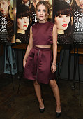 Emily Browning attends the 'God Help The Girl' New York Special Screening at Nitehawk Cinema on August 25 2014 in New York City