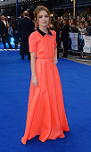 Emily Browning attends the UK Premiere of 'Legend' at Odeon Leicester Square on September 3 2015 in London England