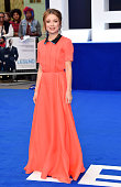 Emily Browning attends the world premiere of 'Legend' at Odeon Leicester Square on September 3 2015 in London England