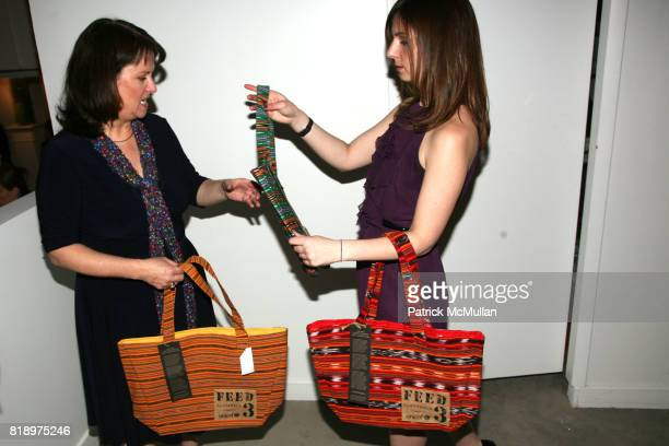 Emily BurnsHigley and Laura Higley attend LORD TAYLOR Mother/Daughter Tea for FEED with LAUREN BUSH and ELLEN GUSTAFSON at Lord Taylor on May 7 2010...