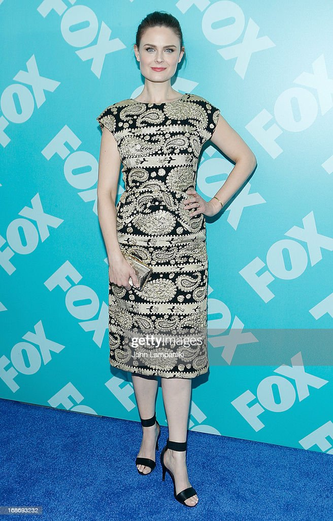 Emily Deschanel attend the FOX 2103 Programming Presentation Post-Party at Wollman Rink - Central Park on May 13, 2013 in New York City.