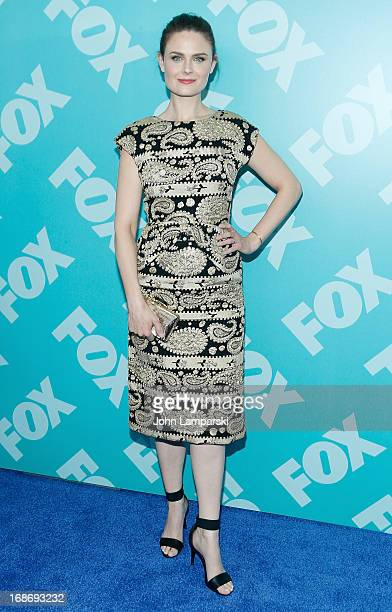 Emily Deschanel attend the FOX 2103 Programming Presentation PostParty at Wollman Rink Central Park on May 13 2013 in New York City