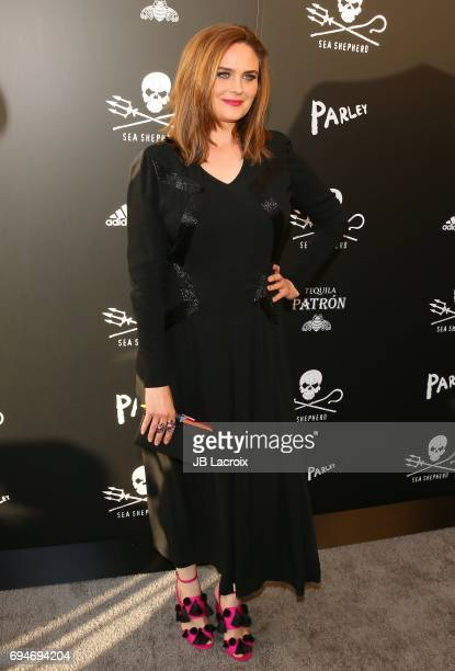Emily Deschanel attends Shepherd Conservation Society's 40th Anniversary Gala For The Oceans at Montage Beverly Hills on June 10 2017 in Beverly...
