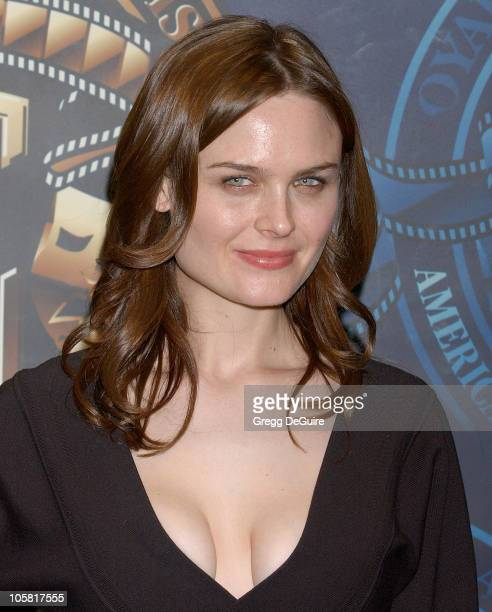 Emily Deschanel during 20th Annual American Society of Cinematographers Outstanding Achievement Awards at Hyatt Regency Century Plaza Hotel in...
